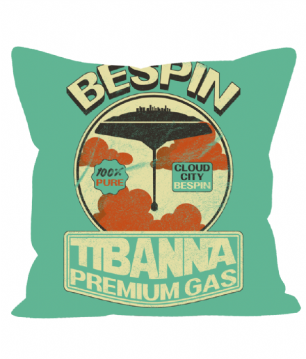 "Bespina Tibanna Premium Gas Printed 12"" Star Wars Inspired Sofa Cushion"
